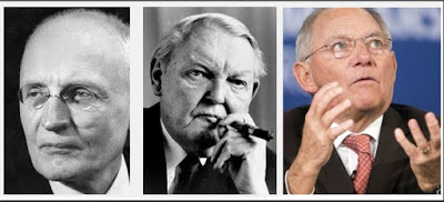 Walter Euken / Ludwig Erhard / Wolfgang Schäuble