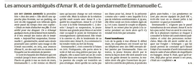 Le Monde, 23 avril 2015