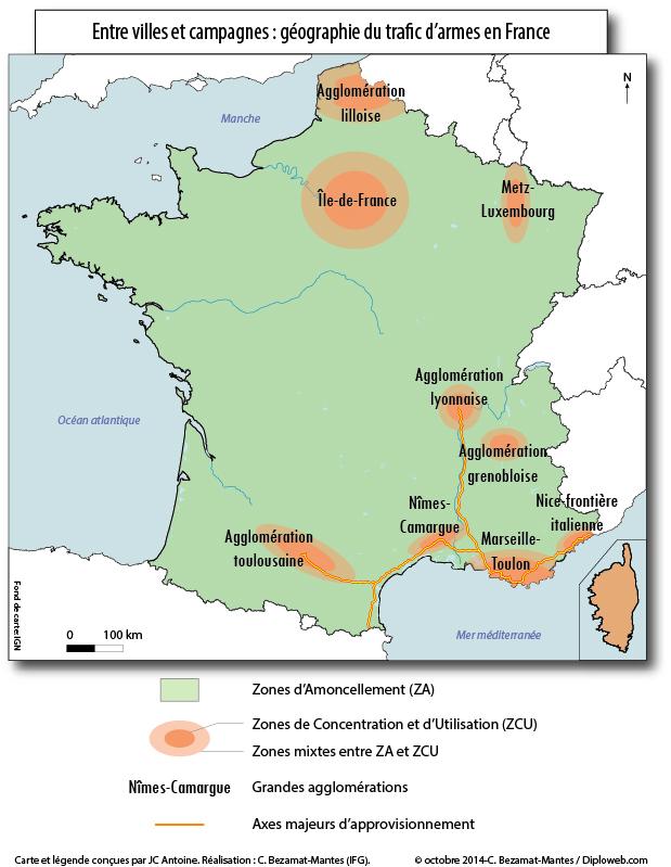 Geographie_trafic_armes_France_C-_Bezamat-Mantes