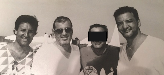 Arnaud Mimran, Samy Souied (assassiné) et Marco Mouly