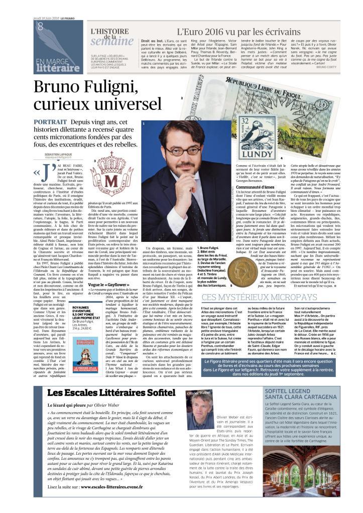 Bruno Fuligni - Le figaro